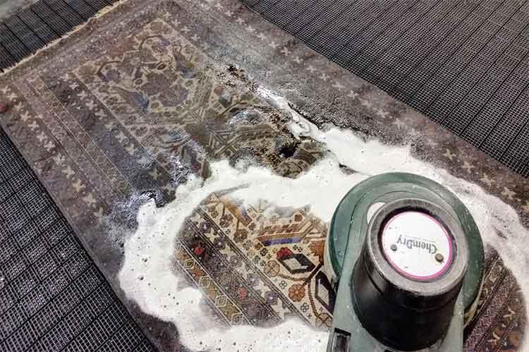 قالیشویی در جهانشهر