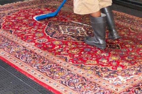 قالیشویی در مهرشهر