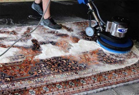 قالیشویی در محمدشهر