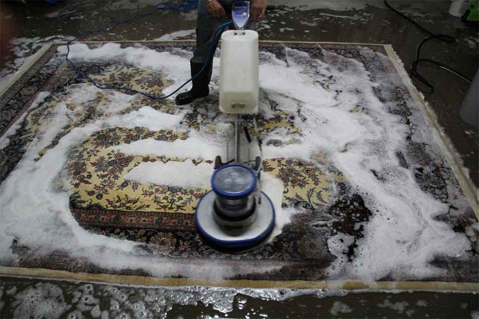 قالیشویی در شاهین ویلا